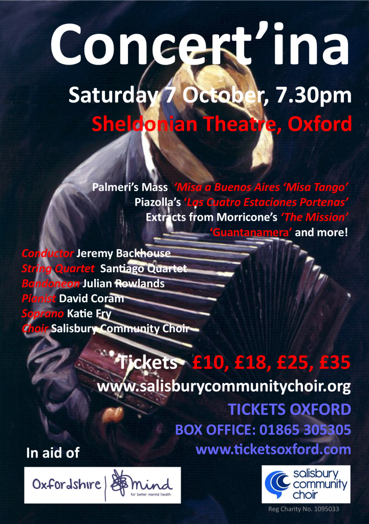 Concertina Flyer - Front